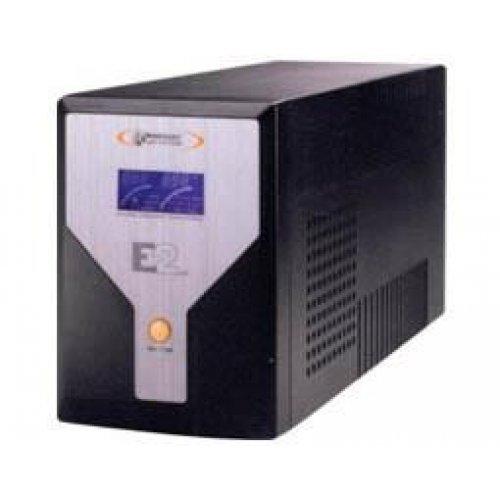 UPS line interactive 1500VA καθαρού ημιτόνου E2 BLACK Infosec