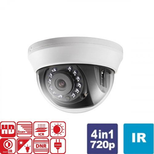 Κάμερα Dome IR 2.8mm Turbo-HD 720p DS-2CE56C0T-IRMMF Hikvision