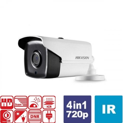 Κάμερα Bullet IR 2.8mm IP66 Turbo-HD 720p DS-2CE16C0T-IT3F Hikvision