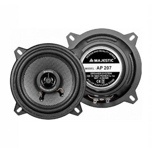 Speaker auto 13cm 2 WAY 120 watt AP 207 MAJESTIC