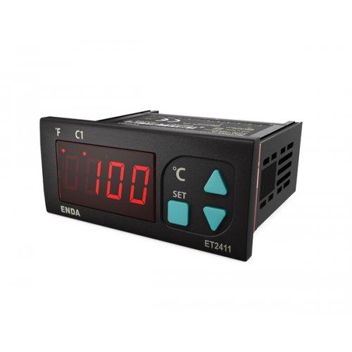Ελεγκτής θερμοκρασίας ψηφιακός με σένσορα 77X34 12V ET2411-12 Enda