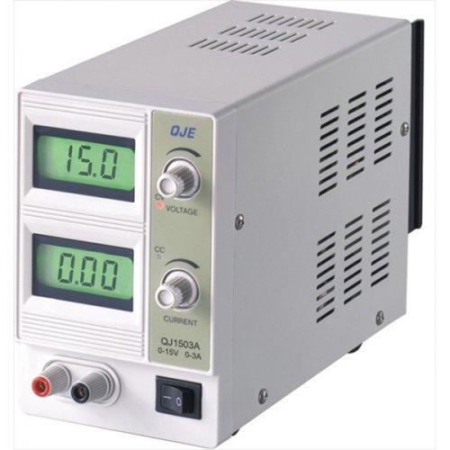 Τροφοδοτικό πάγκου 230V->0-18V DC 0-3A  με LCD ρυθμιζόμενο QJ-1803C