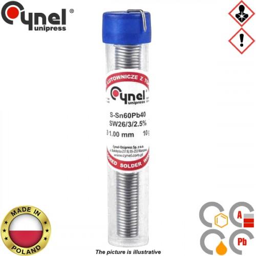 Κόλληση 10gr 60/40 1mm S-SnPb40 Cynel
