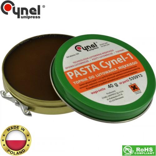 Σολδερίνη πάστα 40gr Cynel-1 Flux Cynel