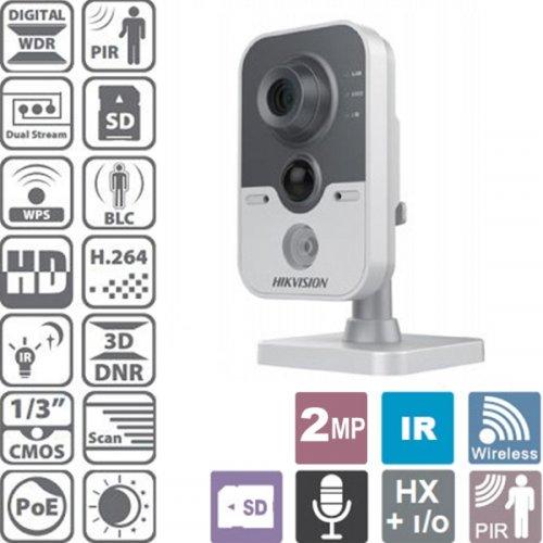 Κάμερα Cube ασύρματη-ενσύρματη 2.8mm IP 2MP PIR DS-2CD2420F-IW Hikvision