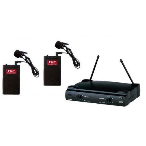 Ασύρματο σύστημα 2 μικροφώνων πέτου SM-2288D Audien