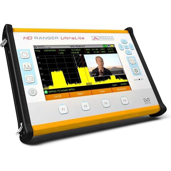 Πεδιόμετρο & αναλυτής φάσματος PROMAX HD RANGER UltraLite