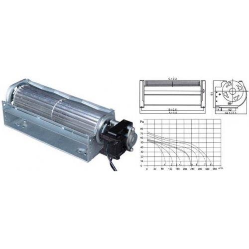 Ανεμιστήρας Ψυγείου Φτερωτός 230V AC 26/48W 360mm RQA61.360 TIDAR