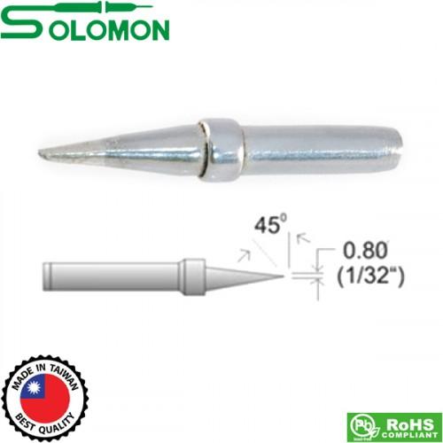 Μύτη κολλητηρίου 621 (κοντή) 0.8 mm για το κολλητήρι SL-20I/SL-30I Solomon
