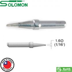 Μύτη κολλητηρίου 627 (κοντή) 1.6mm για το κολλητήρι SL-20I/SL-30I Solomon