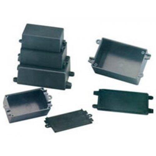 Κουτί πλαστικό IP65 65x38x22mm μαύρο G1011 Gainta