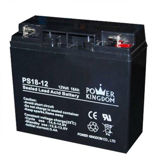 Μπαταρία 12V 18Ah μολύβδου solar βαθιάς εκφόρτισης DAB12-18Sol Dyno Europe