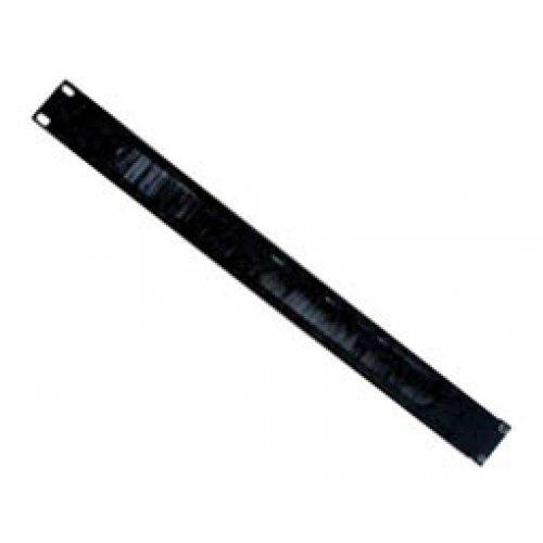 Panel rack 1U με βούρτσα για σκόνη Safewell