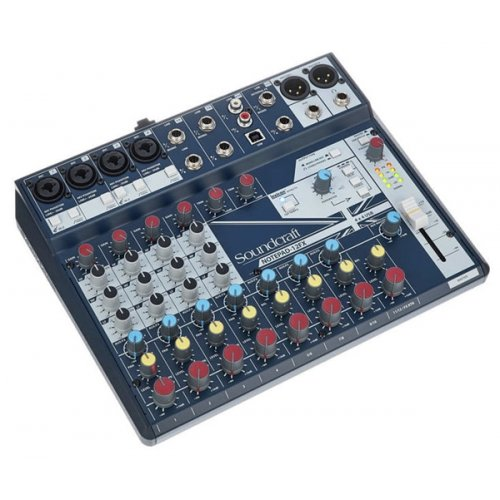 Μίκτης ήχου 12 καναλιών 4 mono/line 4 stereo NOTEPAD-12 Soundcraft