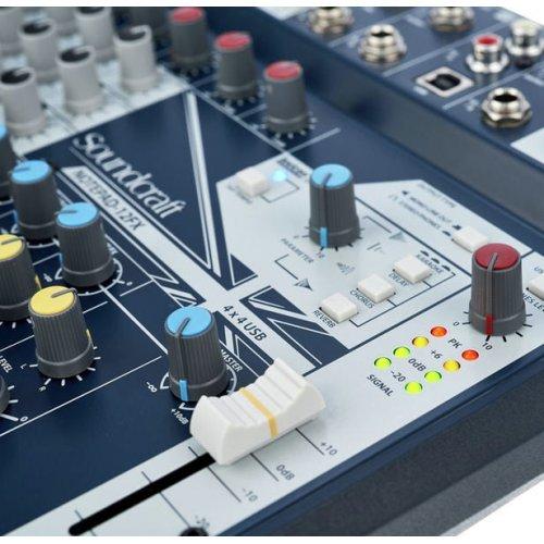 Μίκτης ήχου 12 καναλιών NOTEPAD-12FX SOUNDCRAFT