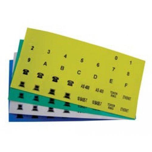 Πινακίδα σήμανσης πρίζας αυτοκόλλητο κίτρινη 7ICON T/PRO