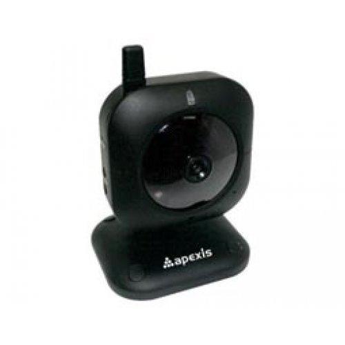 Κάμερα Mini ασύρματη-ενσύρματη 6mm IP CMOS J012-WS Μαύρη Apexis
