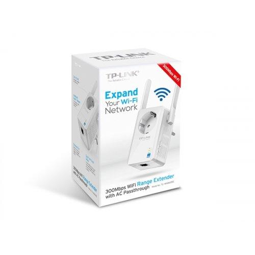 Range Extender 300Mbit + Πρίζα Εναλλασσόμενου Ρεύματος TL-WA860RE TP-LINK