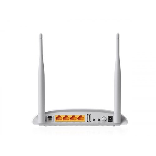 Modem router wireless N USB VDSL2 300Mbps TD-W9970 TP-LINK