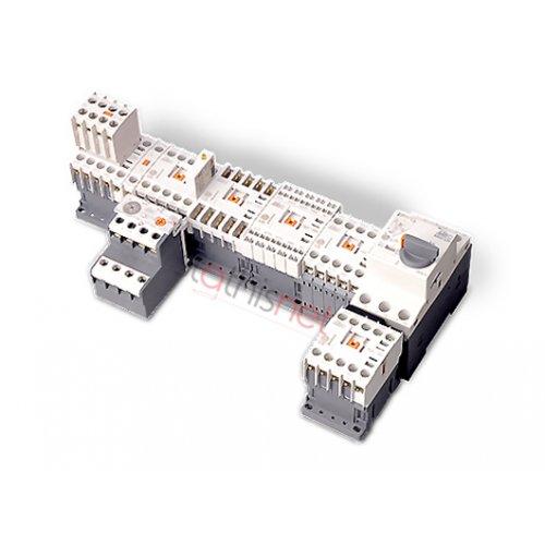 Relay ισχύος 3pin 30kw 60V AC 2NO 2NC GMC-65 Metamec LG