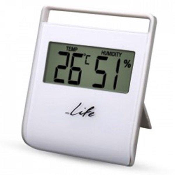 Ψηφιακό θερμόμετρο-υγρόμετρο εσωτερικού χώρου WES-102 LIFE
