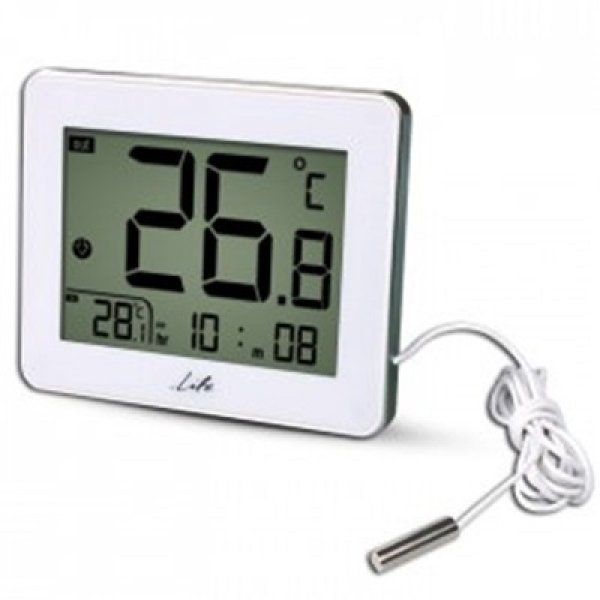 Ψηφιακό θερμόμετρο εσωτερικής-εξωτερικής WES-202 LIFE