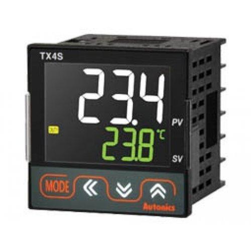 Ελεγκτής θερμοκρασίας ψηφιακός 48x48 LCD ρεύματος 4-20mA TX4S-14C AUTONICS