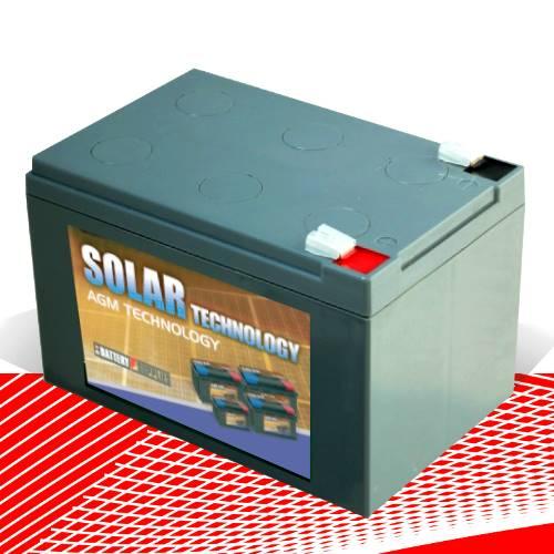 Μπαταρία 12V 12,3Ah μολύβδου solar βαθιάς εκφόρτισης DAB12-14Sol Dyno Europe