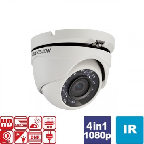 Κάμερα Dome IR 2.8 mm Turbo-HD 1080p DS-2CE56D0T-IRMF Hikvision