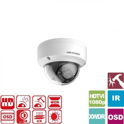 Κάμερα Dome IR 3.6mm IP66 Turbo-HD 1080p DS-2CE56D7T-VPIT Hikvision
