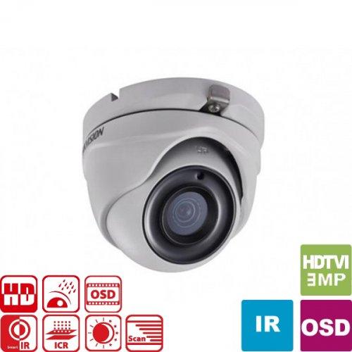 Κάμερα Dome IR 2.8mm IP66 Turbo-HD 3MP DS-2CE56F1T-ITM Hikvision