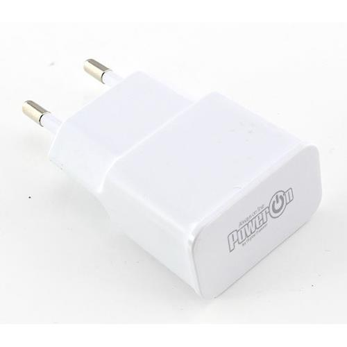 Τροφοδοτικό 230V In-> 1 x USB A Out 5V 2.1A CH-25W Power On