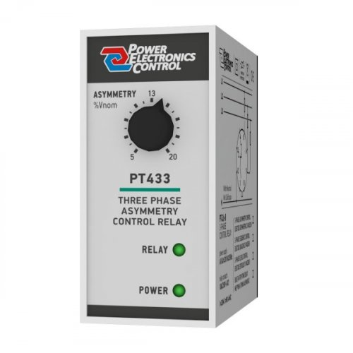 Επιτηρητής διαδοχής φάσης 230V AC τριφασικός ( 3Φ ) PT433-11 Power Electronics Control