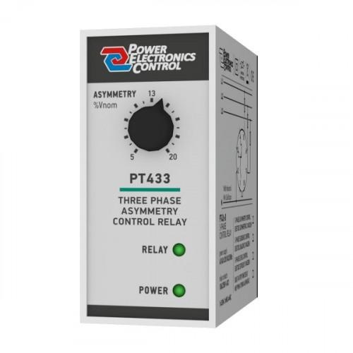 Επιτηρητής διαδοχής φάσης 230V AC τριφασικός ( 3Φ )PT433-8 Power Electronics Control