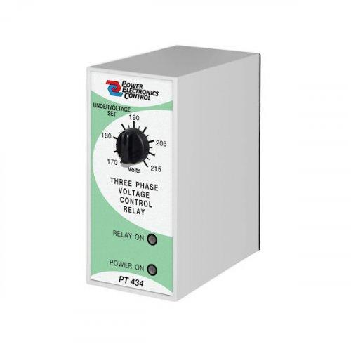 Επιτηρητής διαδοχής φάσης 230V AC τριφασικός ( 3Φ ) PT434-8 Power Electronics Control