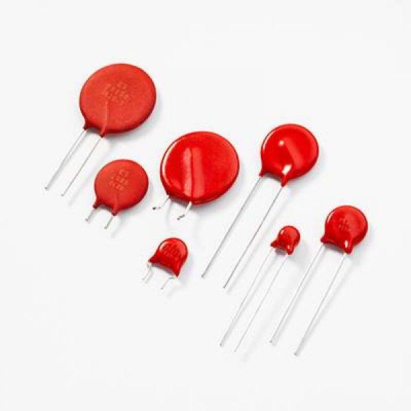 Varistor Φ10 60V AC 2500A 900pF V100ZA4P Littelfuse