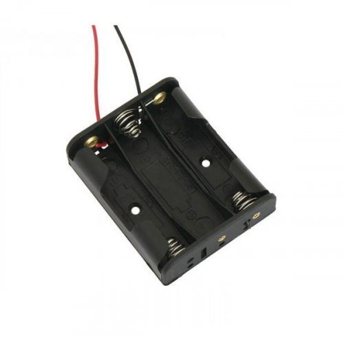 Μπαταριοθήκη 3 x AA μπαταριών με καλώδιο BH0014A