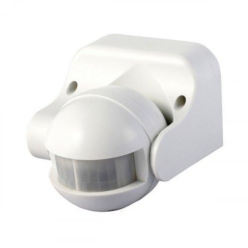 Ανιχνευτής κίνησης λευκός 1200W 230V 180° VK/12001/WA