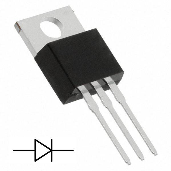 Δίοδος 100V 10A schottky TO-220-3 MBR20100CTP