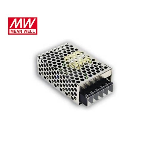 Τροφοδοτικό switch 230V IN -> OUT 15VDC 25W 1.7A κλειστού τύπου mini RS25-15 Mean Well