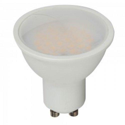 Led GU10 7W 240V day light 6000K dimmable 1671 VT-2887D V-TAC
