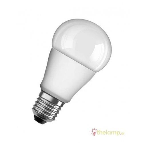 Led κοινή A75 10.5W E27 230V warm white 2700K value Osram