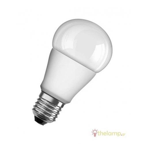 Led κοινή A75 10W E27 230V day light 6500K value Osram