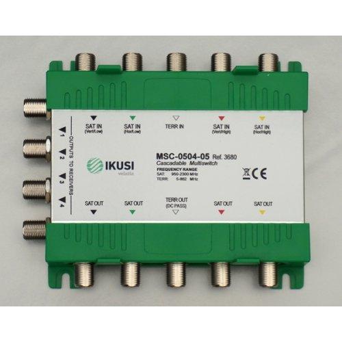 Πολυδιακόπτης cascadable 5x4 εξόδων MSC-0504-05 IKUSI