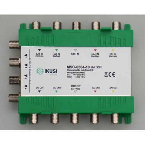 Πολυδιακόπτης cascadable 5x4 εξόδων MSC-0504-10 IKUSI