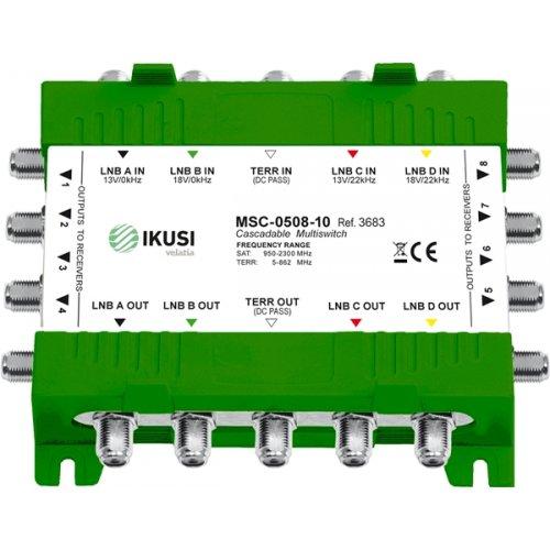 Πολυδιακόπτης cascadable 5x8 εξόδων MSC-0508-05 IKUSI