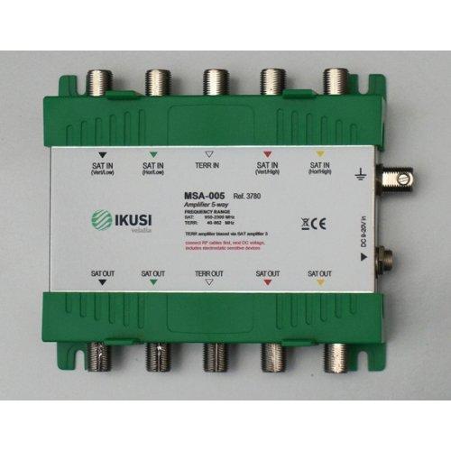 Eνισχυτής πολυδιακοπτών cascade 5 εισόδων MSA-005 IKUSI