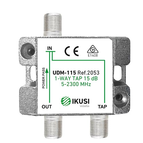Διακλαδωτής TAP-OFF ->1 εξόδου UDM-125 IKUSI
