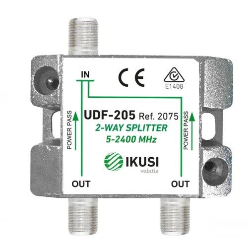 Διακλαδωτής 1->2 εξόδων UDF-205 IKUSI