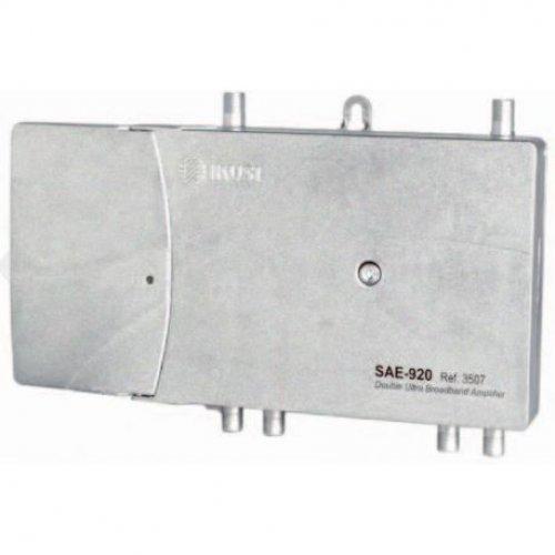 Ενισχυτής γραμμής διπλός TERR/SAT SAE-920 IKUSI